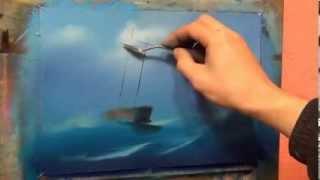 Уроки рисования,  обучение живописи в Москве, Питере, киеве, Александр Южаков