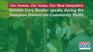 Cory Booker on Housing Solutions
