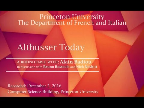 Althusser Today