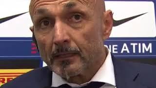 Intervista Luciano Spalletti furioso litiga con tutti post Inter-Juventus 2-3