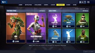 Rex and Tricera Ops Skin (Back) ! Fortnite Item Shop January 23, 2019