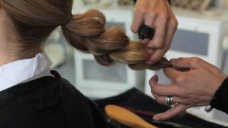 Updo Hair Styles - How To Style A Chignon By Lipgloss Culture