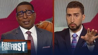 Raptors shooting drought was the biggest reason for the Game 2 loss | NBA | FIRST THINGS FIRST