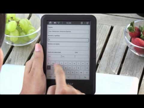 Comprar un ebook con tu eReader tagus
