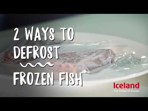 How To Defrost Frozen Fish