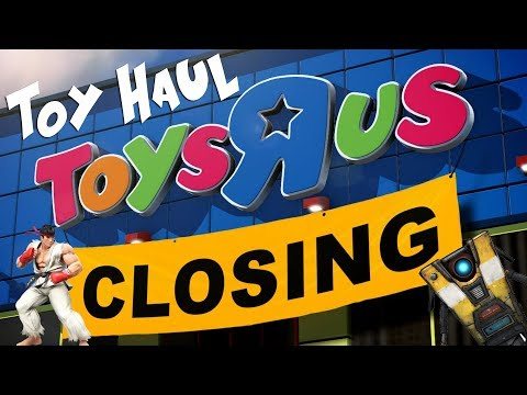 Toys R Us Closing Sale Action Figures Mini HAUL Street Fighter Borderlands | TUNA FTW