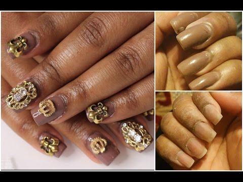 How I apply nail jewels - Queenii Rozenblad