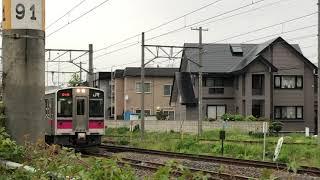 奥羽本線701系100番台秋アキN103編成ワンマン普通碇ヶ関行き668M