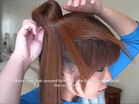 Dạy cách búi tóc cao theo phong cách Nhật Bản quý phái