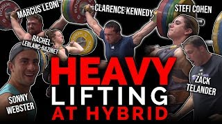 Stefi Cohen, Sonny Webster, Clarence, Zack, Rachelle Leblanc and Marcus Lift BIG