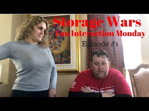 Storage Wars Fan Interaction Monday with Team Bargain Hunter