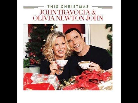 John Travolta - Olivia Newton-John - This Christmas - YouTube
