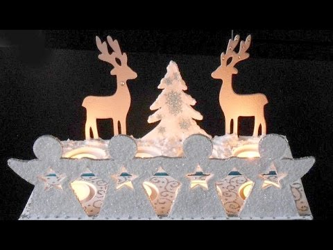 Decoration de fen tres pour no l youtube for Decoration fenetre noel blanc