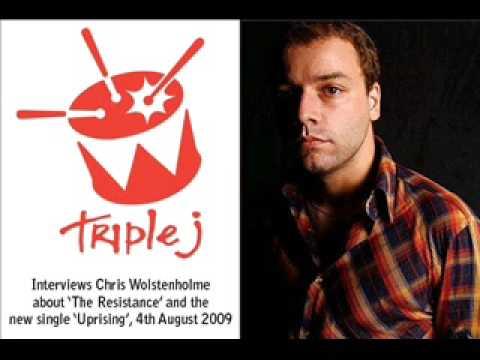 Muse - Triple J Interviews Chris: Uprising Single, 4.8.09