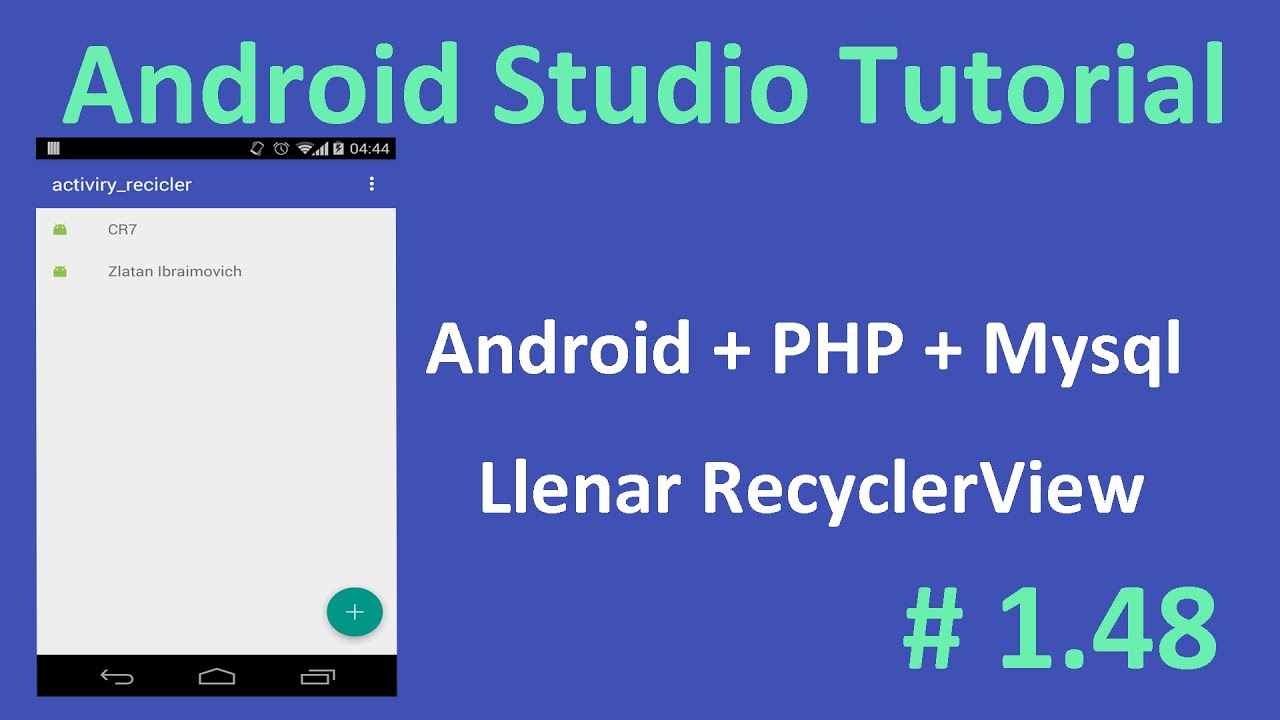 1. Android PHP MySQL Tutorial | Introduction - YouTube