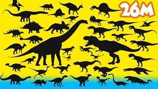 Dinosaur Puzzle game 공룡 퍼즐게임놀이 Tyrannosaurus,Brachiosaurus,Mosasaurus,Stegosaurus 공룡이름 dinosaur name