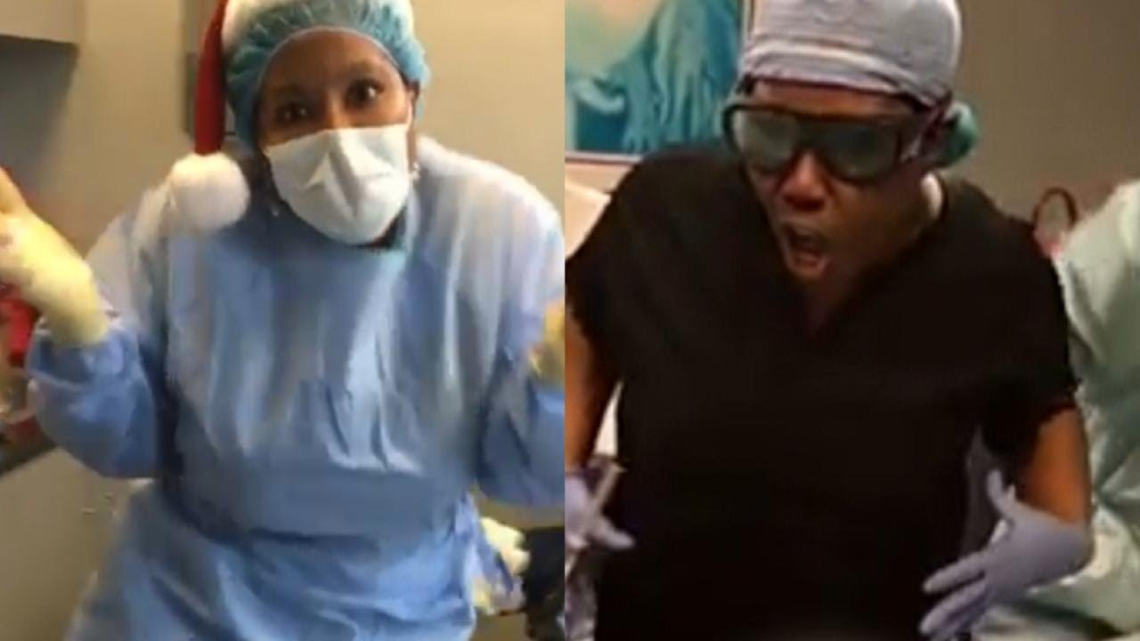 Suspended Georgia 'Dancing Doctor' Defends Her Controversial Moves