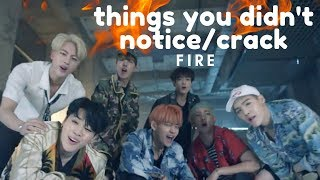 Download things you didn't notice in fire mv - bts