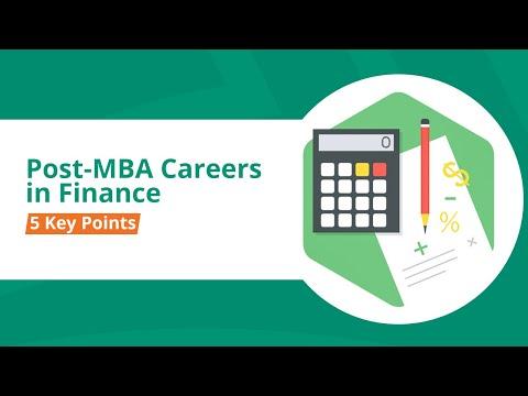Post-MBA Careers in Finance: 5 Key Points (Webinar)