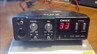 Радиостанция ONWA MK 2,краткий обзор и ремонт,ч 1