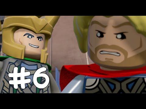 KARDEŞ KAVGASI! - LEGO Marvel's Avengers - Part 6(Türkçe Gameplay) HD