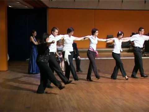 Martha a Tena, řecké tance - maturitní ples SOU gastronomie a podnikání Palác kultury 09