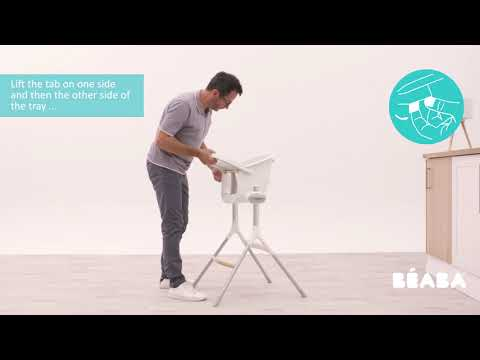 Up&Down High Chair grey/white video