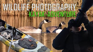 WILDLIFE PHOTOGRAPHY from KA¥AK // Winter water fowl Photography / Canadian Geese