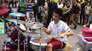 """20130622 李科穎《CNBLUE-I'm Sorry》 高畫質 1080p HD Jazz Drummer """"Ke Ying"""""""