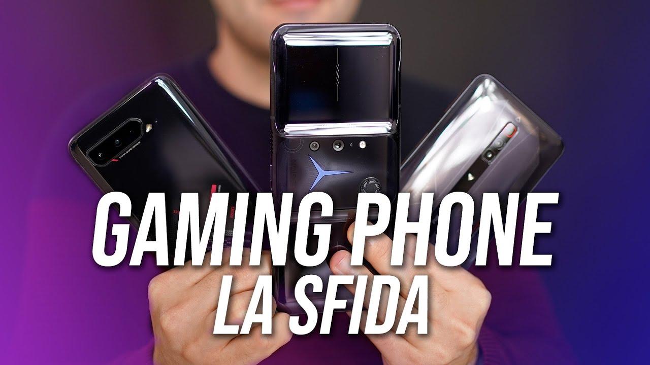 Download Miglior Gaming Phone 2021: Confronto Legion Duel 2, ROG 5 e RedMagic 6