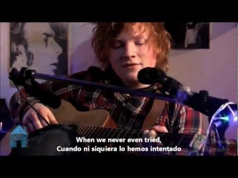 Ed Sheeran - Sunburn Subtitulado Español/Ingles