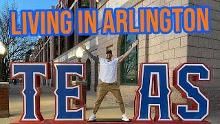 Living in Arlington Texas | Full Vlog Tour of Arlington Texas