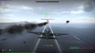 War Thunder:  BB-1 Versus BF-110 C-4