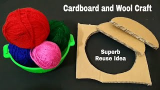 Superb Reuse Of Empty Cartoons and Wool | Best Of Waste