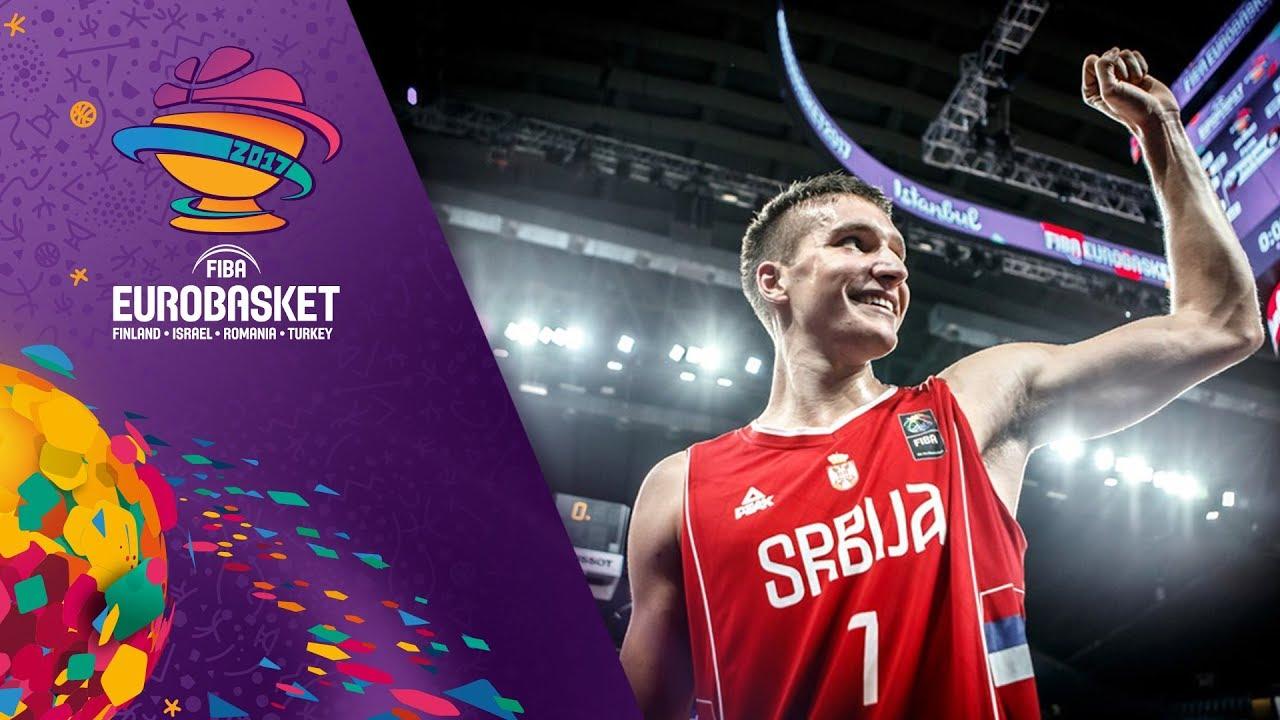 Bogdan Bogdanovic - All-Star Five - FIBA EuroBasket 2017