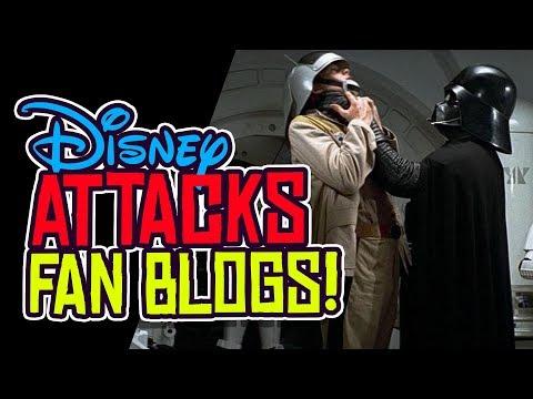 Disney ATTACKS BLOGGERS! Star Wars Galaxy's Edge FREAKOUT!