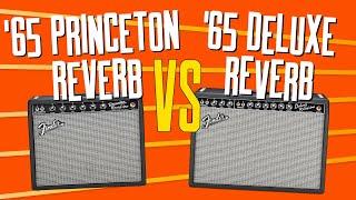 Fender '65 Deluxe Reverb Vs '65 Princeton Reverb Guitar Amps? That Pedal Show