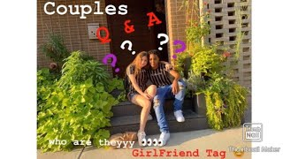 COUPLES FIRST VIDEO ! Q&A/ GIRLFRIEND TAG !!! ❤️🍭