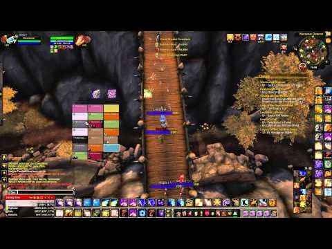 Blizzard raid style party frames bugged - YouTube