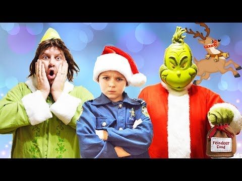 Download Youtube: Buddy the Elf helps funny kids prepare for Christmas in Holiday video