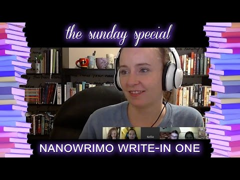 FIRST DAY OF NANOWRIMO WRITE-IN