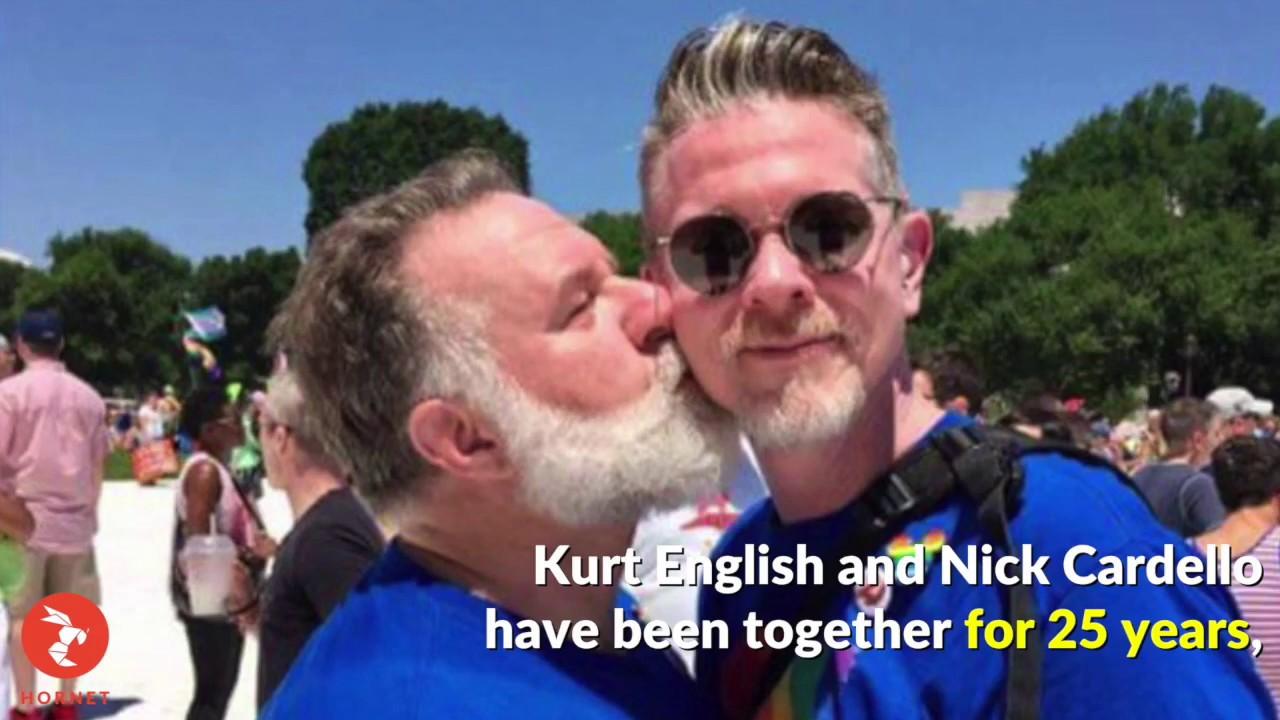 Gay couple meetup