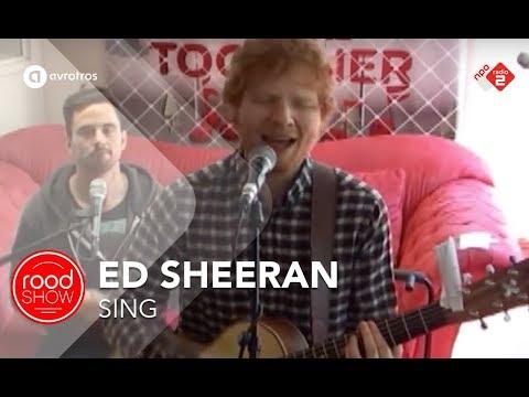 Download Ed Sheeran - 'Sing' live @ Roodshow
