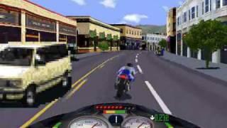 Road Rash (PC) Windows 95 Peninsula level 5