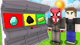 ŞANS MAKİNESİ OYNADIK! (KİM KAZANDI?) 😱 - Minecraft