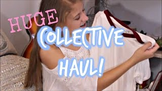 HUGE Collective Haul!! Clothes, Stationary, and Craft Supplies!!