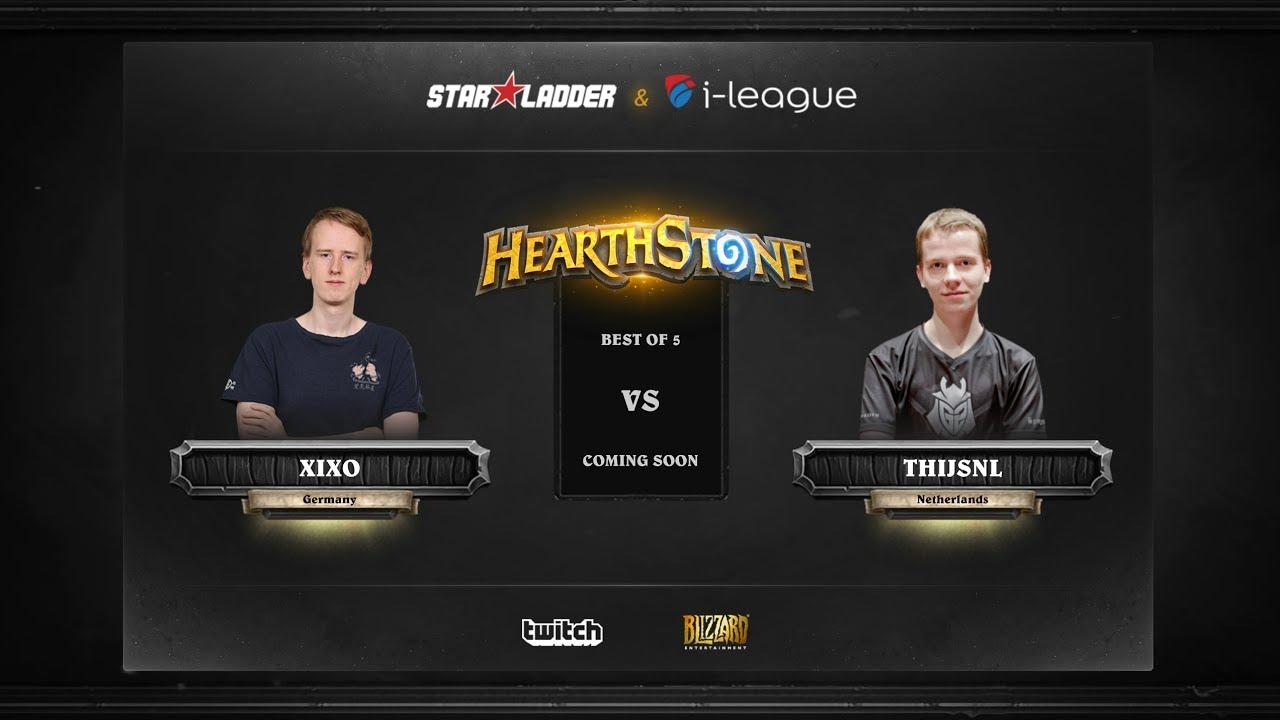 [RU] Xixo vs ThijsNL | SL i-League Hearthstone StarSeries Season 3 (29.05.2017)