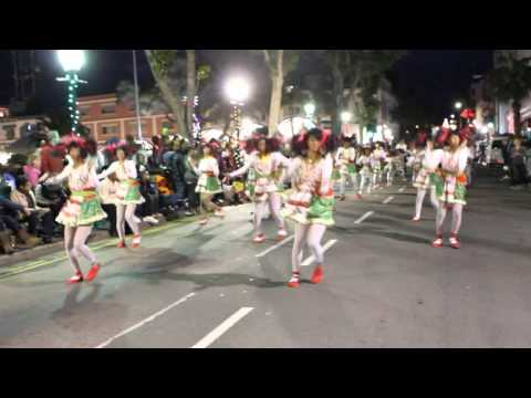 St George's Original Dancerettes At Santa Parade Hamilton Bermuda November 27 2011