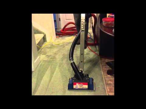 Vacuum Thingymajigger Carpet Cleaning with Zipper Wand and Mytee portable extractor