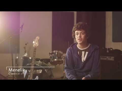 Inspiring musical achievement - Menelik